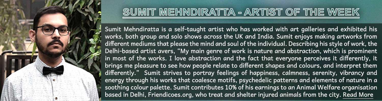 19. Artist ofthe Week_Sumit Mehndiratta