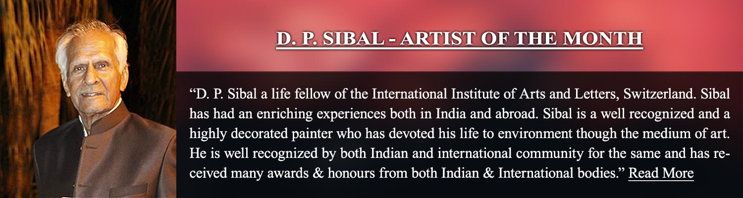 Artist of The Month_D. P. Sibal