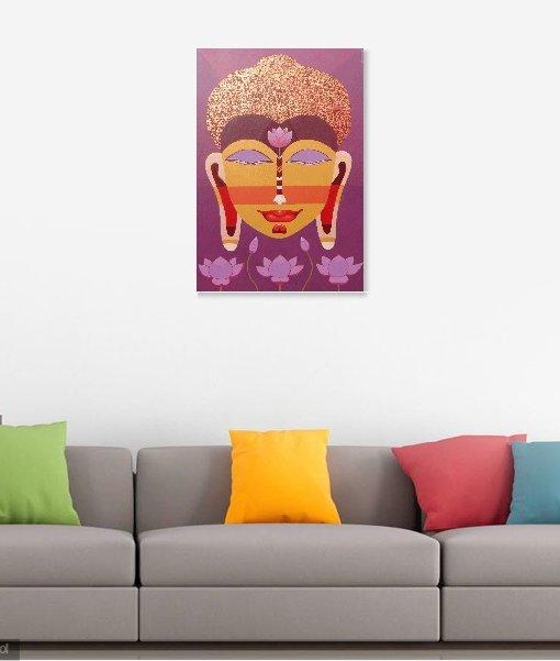 BUDDHA Wall view 4
