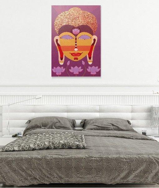BUDDHA Wall view