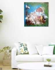 HORSES WALL VIEW 2