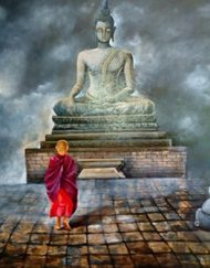 2. BUDDHA AND MONK