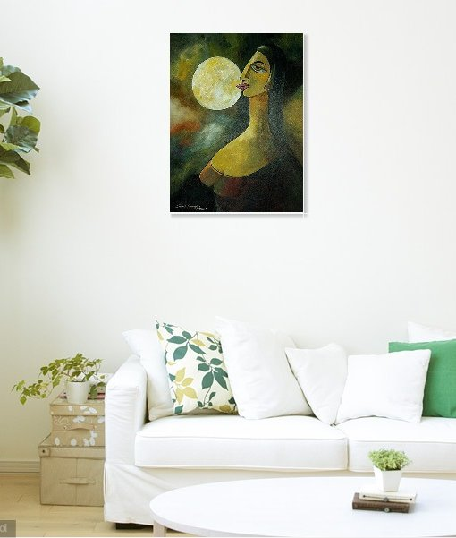 AMBITION-MADE-THE-MOON-FULL Wall view  3
