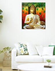 BUDDHA-THE-ENLIGHTENED WALL VIEW 2
