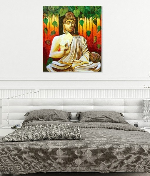 BUDDHA-THE-ENLIGHTENED WALL VIEW 3