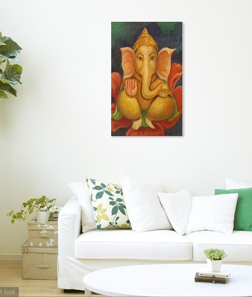 GANESHA WALL VIEW 2