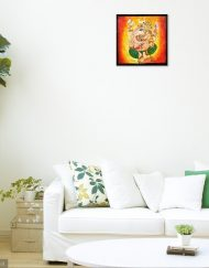 GANESHA WALL VIEW 3