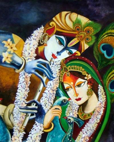IMMORTAL LOVE - RADHA KRISHNA