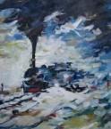 06. DARJEELING HIMALAYAN RAIL DURING SNOWFALL 06