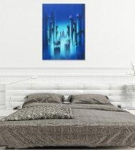 BLUE-NIGHT Wall view 4