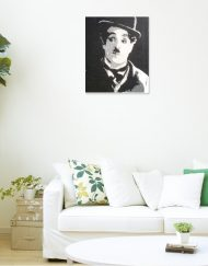 CHARLIE-CHAPLIN WALL VIEW 3