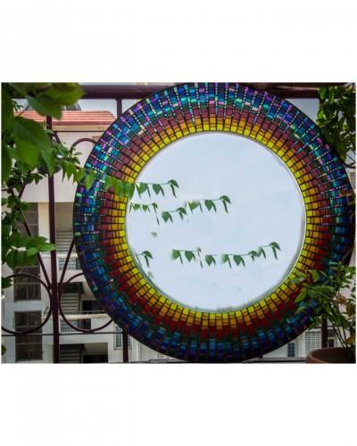 Infinite-Rainbow-Mirror