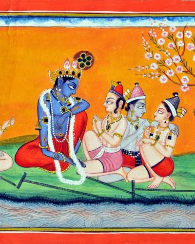 KRISHNA AND  GOPALAS
