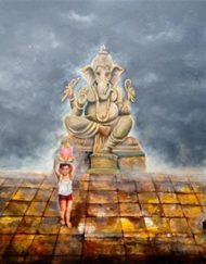 15. GANESHA WITH CHILD