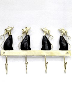CAT SHAPE METAL HANGING