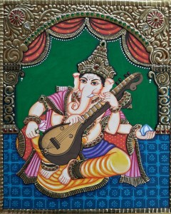 GANESHA WITH VEENA