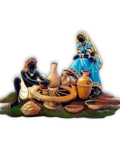 KUMBHAR-couple-wall-hanging