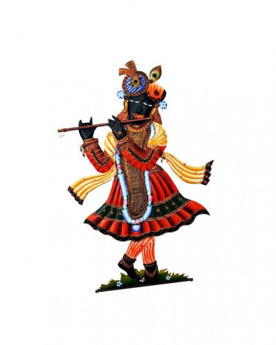Lord-srinathji-iron-wall-hanging