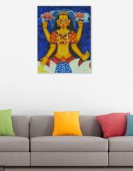 MAHA-LAKSHMI WALL VIEW 2