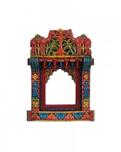 1. CAMEL DESIGN WOODEN WINDOW JHAROKHA