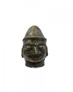 18C-RARE-ANTIQUE-OLD-RELIGIOUS-GOD-SHIVA-HEAD-FIGURE-COLLECTIBLE-DECOR