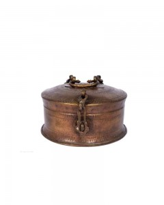 Antique-Beautiful-Design-Unique-Shape-Brass-Chapatti-Bread-Box