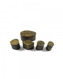 Antique-Jali-Cut-Brass-Rangoli-Printing-Artwork-Making-Dye