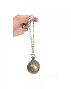 Antique-Old-Ethnic-Brass-Betel-Lime-Paste-Chuna-Dani-Box-With-Chain