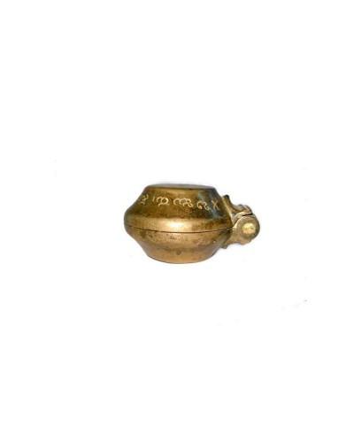 Antique-Rare-Brass-Betel-Lime-Box-(Chuna-Dani)