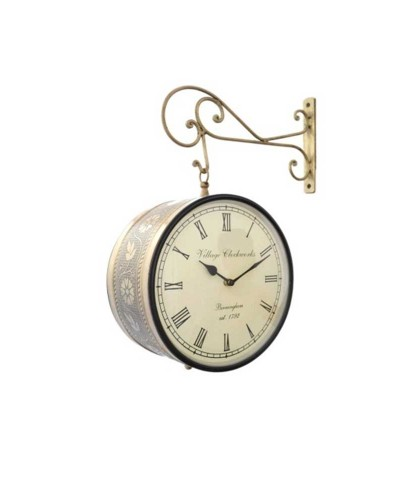 BRASS 8 INCHES RAILWAY CLOCK