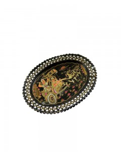 Decorative-Vintage-Hand-Crafted-Unique-Subject-Brass-Jali-Art-Work-Plate