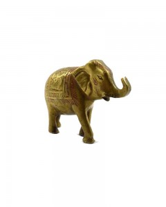 Indian-Vintage-decorative-beautiful-hand-crafted-brass-elephant-figure