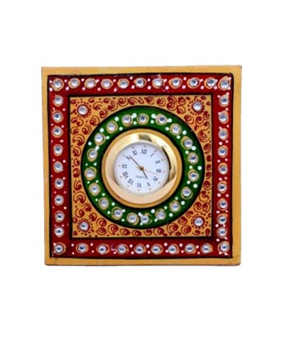 MARBLE 3X3 INCHES SQUARE WATCH
