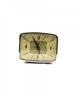 Nice-Vintage-Decorative-Table-Clock-Not-Working-Need-Restoration