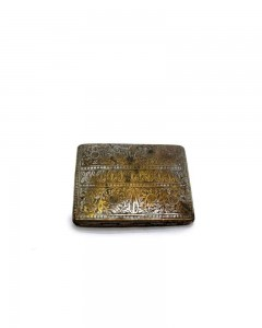 Rare-Vintage-Hand-Carved-Flower-Inlay-Work-Brass-Cigarette-Case