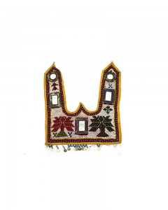 Rare-Vintage-Hand-Embroidery-Work-Kutch-Heavy-Beaded-Wall-Hanging-Décor