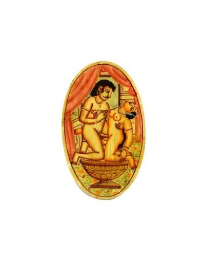 Unique-Indian-Rare-Fine-Art-Miniature-Painting-Decorative-Table-Coas----a
