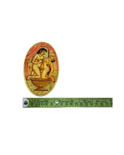 Unique-Indian-Rare-Fine-Art-Miniature-Painting-Decorative-Table-Coast--b