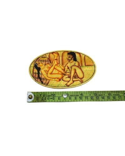 Unique-Indian-Rare-Fine-Art-Miniature-Painting-Decorative-Table-Coast---b