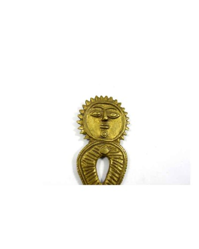 Vintage-Beautiful-Unique-Sun-Design-Brass-Bottle-Opener-Collectible---G47-88---a