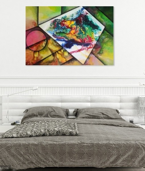 ABSTRACT WALL VIEW 3
