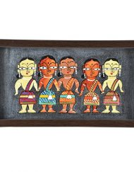 BLACK FIVE LADY TRAY (1)