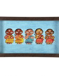 BLUE FIVE LADY TRAY (1)
