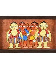 COPPER DHOLAK TRAY (1)