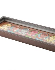 COPPER SIX LADY TRAY (2)