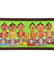 GREEN DHOLAK TRAY (1)