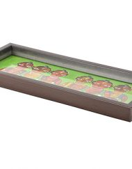 GREEN DHOLAK TRAY (2)