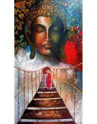 25. BUDDHA AND  MONK CHILD 3