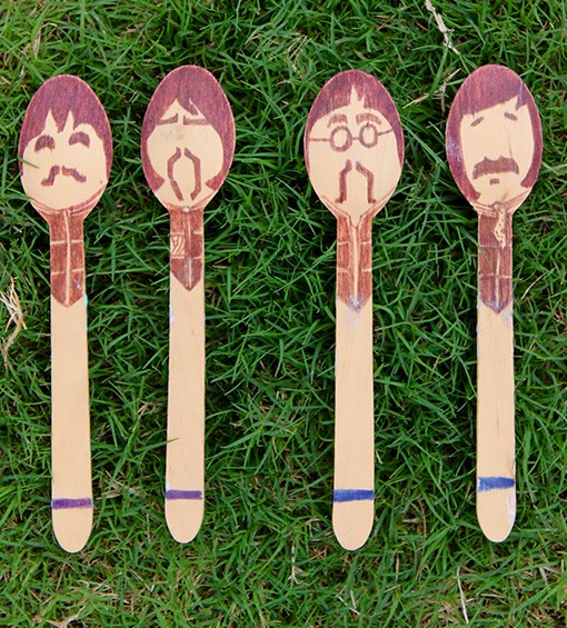 BEATLES SPOONS (2)