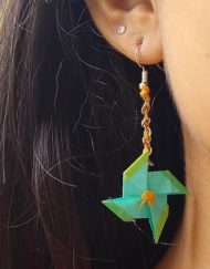ORIGAMI FAN EARRINGS (2)